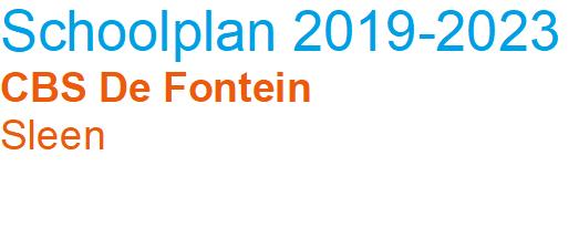 Schoolplan 2019 - 2023