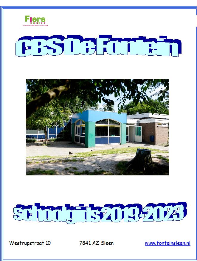 Schoolgids 2019 - 2023
