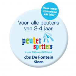 Peuterspetters button